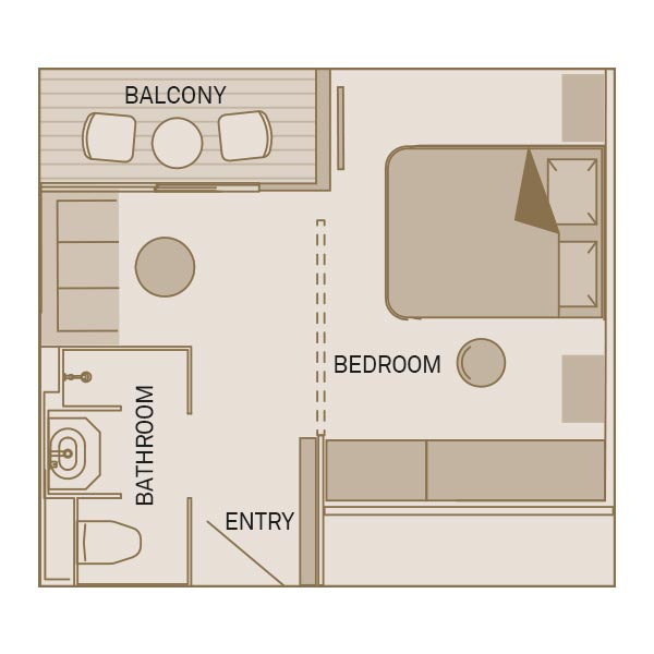 suite floorplan
