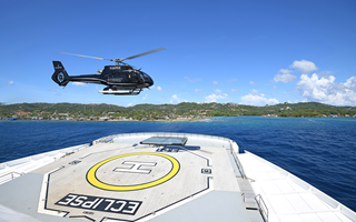 Scenic Eclipse Helicopter Mediterranean