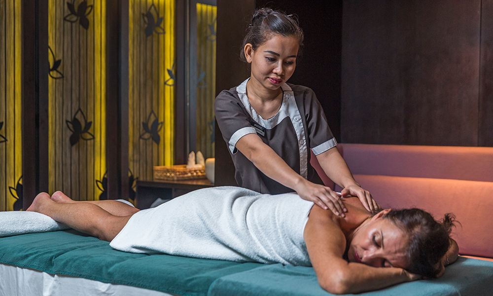 Scenic Spirit massage